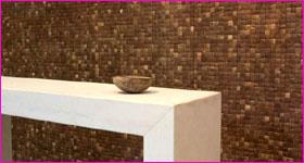 De la noix de coco sur nos murs