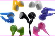 Des écouteurs de couleur, une mode difficile à trouver !